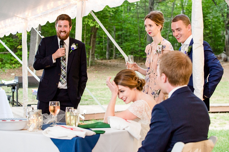 People Who Should Give Speeches At Your Wedding Reception