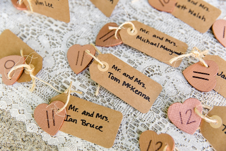Escort Card Ideas for Your Wedding |